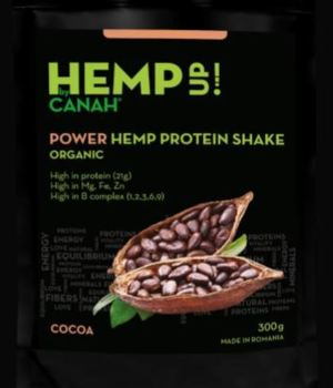 Power Shake proteic de canepa Eco 300g